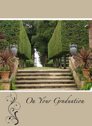 "On your Graduation - 5"" x 7"" KJV Greeting Card"