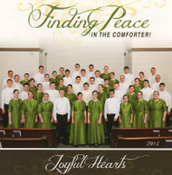 Finding Peace in the Comforter CD by Joyful Hearts