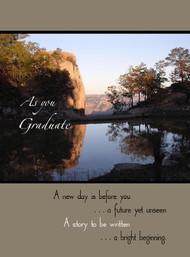 "As you Graduate - 5"" x 7"" KJV Greeting Card"