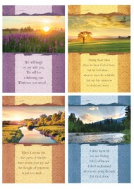 KJV Boxed Cards - Encouragement, Along the Journey (Terminally Ill)