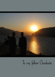 "To My Fellow Graduate - 5"" x 7"" KJV Greeting Card"