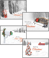 KJV Boxed Cards - Christmas, Assortment - Winter Wonderland