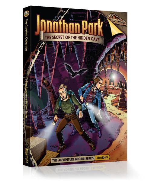 Jonathan Park Series 1 - The Adventure Begins #1: The Secret of the Hidden Cave - Audio Drama CD