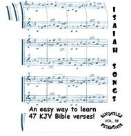 Isaiah Songs CD - KJV Bible Verse Scripture by Heartsong Singables