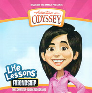 Life Lessons #8: Friendship CD by Adventures in Odyssey