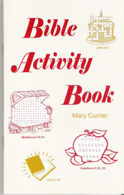 Bible Activity Book - Book