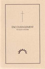 Encouragement in God's House - Book