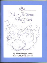 Peter Patience And Puppies - Book