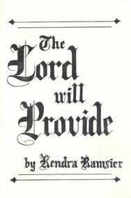 The Lord Will Provide - Book