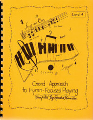 Chord Approach To Hymn Focused Playing Lev 4 - Book