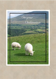 "On Your Ordination - 5"" x 7"" KJV Greeting Card"