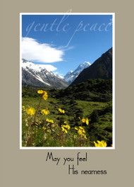 "May You feel His Nearness - 5"" x 7"" KJV Greeting Card"