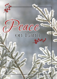 "Peace on Earth - 5"" x 7"" KJV Greeting Card"