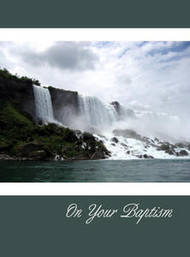 "On Your Baptism - 5"" x 7"" KJV Greeting Card"