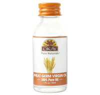 Wheat Germ Virgin Oil 100% Pure for Hair & Skin 1oz / 30ml