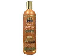 Shea Butter Lotion for Face & Body 16oz / 473ml