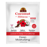 Coconut Oil Leave in Deep Conditioner With Hibiscus 1.5 oz