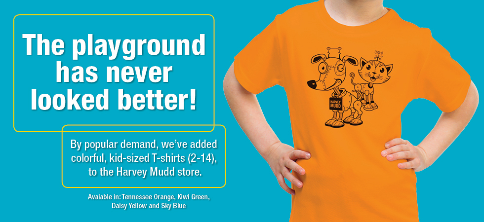 Kid-sized t-shirts now available