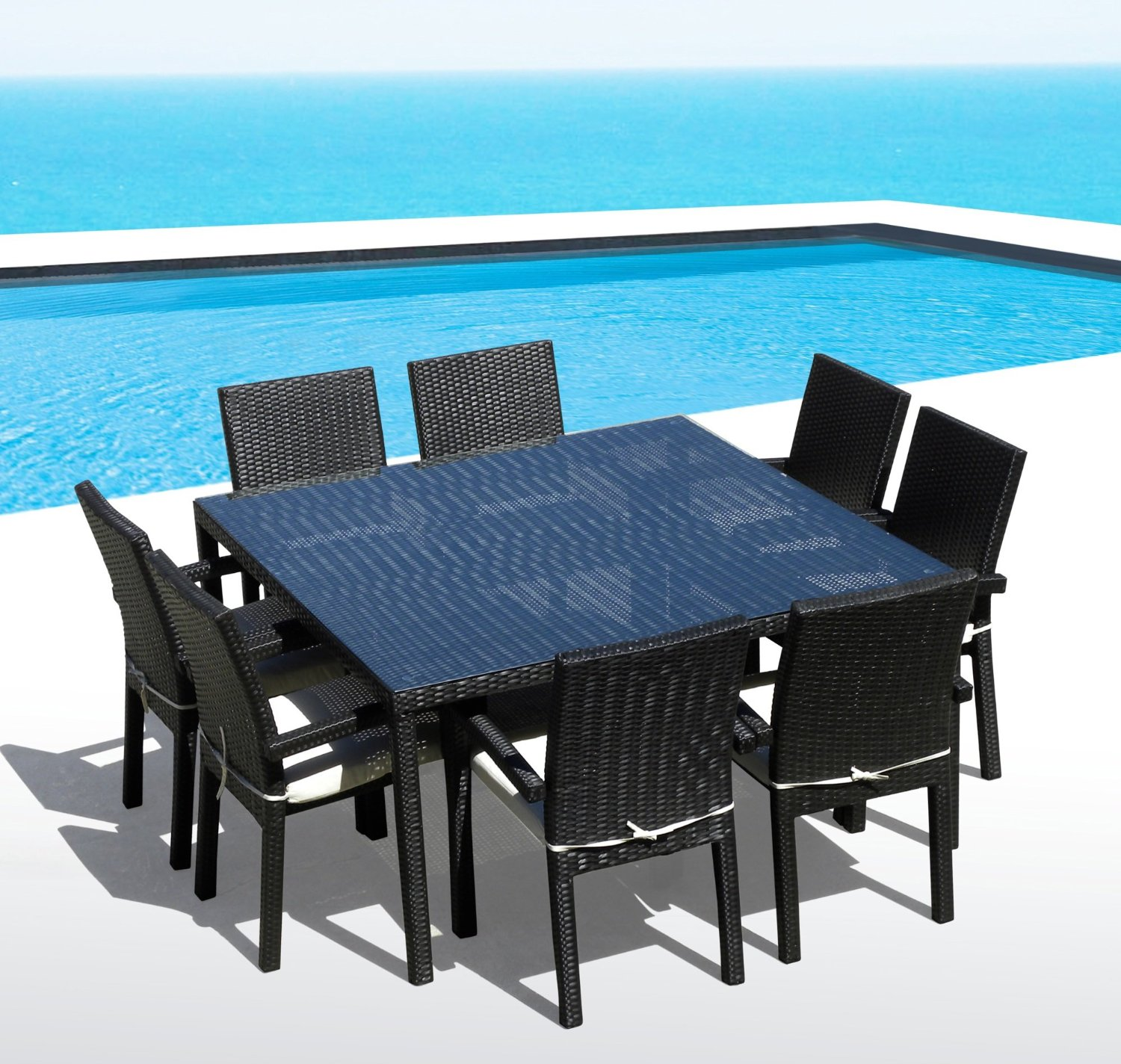 Outdoor Patio 9PC Dining Set