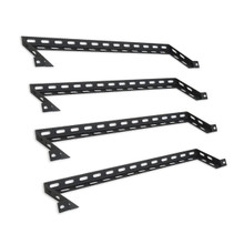 "R-LCRLBAR4-H L-shape cable management bar with 4"" offset"