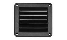 Grill - Rectangle 4x5 Openings - ABS - Black