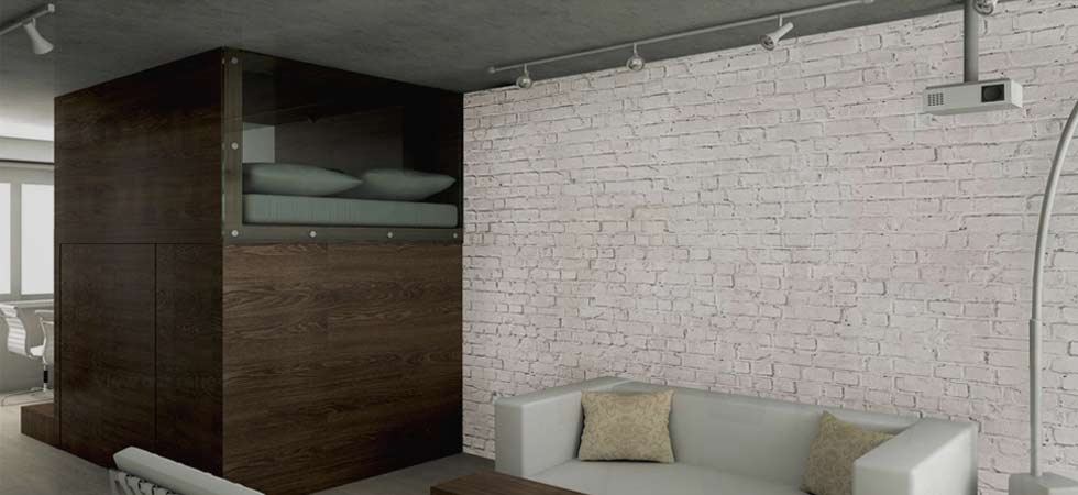Full range of Brick and Wood Effect Wallpapers