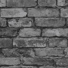 Rustic Brick - Silver/Black