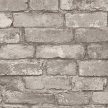 Rustic Brick - Silver/Grey