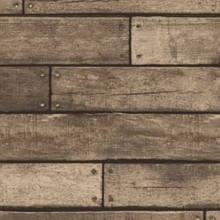 Wooden Plank - Metallic Brown
