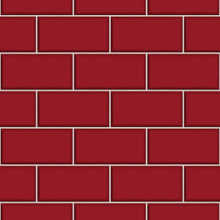 Ceramica Brick Tile - Red FD40138