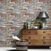 Authentic Multi Wood Panel Wallpaper  7319-06
