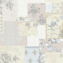 Love Letters Parchment Wallpaper M0817