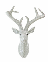 swarovski crystal stags head