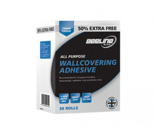 beeline trade wallpaper paste glue adhesive hangs up to 30 rolls