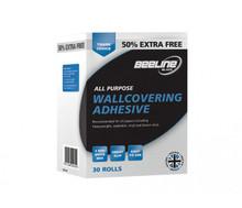beeline trade wallpaper paste glue adhesive hangs up to 30 rolls