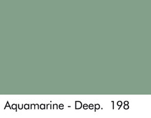 aquamarine deep blue sea green little greene paint