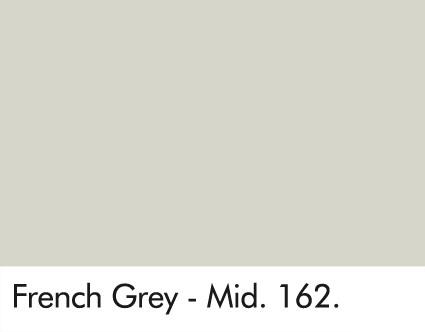 French Grey Mid Paint Little Greene Paint Lancashire Wallpaper