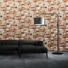Muriva Loft Red Brick Wallpaper