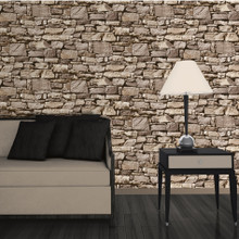 Dry Stone Wall Sand Wallpaper J49407