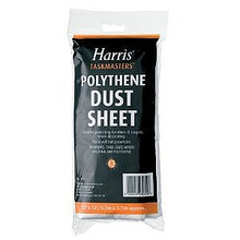 Polythene Cotton Dust Sheet 12' x 12' (3.7m x 3.7m)