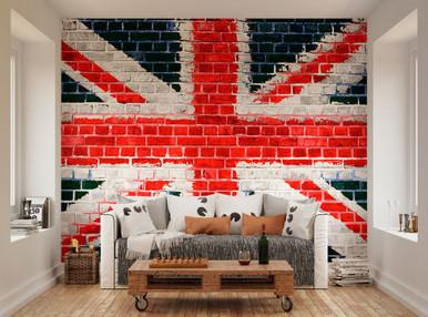 Beautiful ... Union Jack Wall Mural WAL0035. Image 1 Awesome Ideas