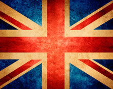 Union Jack Flag Mural Wallpaper Part 39