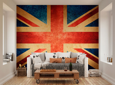 Perfect ... Union Jack Mural WAL0066. Image 1 Amazing Pictures