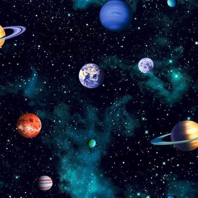 Cosmos Realistic Space Wallpaper