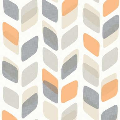 Unplugged Stem Orange Wallpaper Galerie Wallpaper Lancashire
