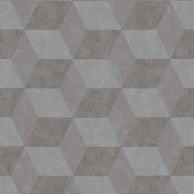 Grey 3D Cubes Wallpaper Paste the Wall