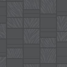 Zebra Print Glitter Black Tile Wallpaper