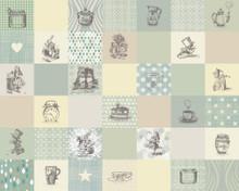 Alice in Wonderland Adventure Mural