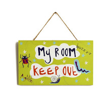 Don't Bug Me Green Insects Room Sign