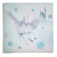 Fairytale Blue Unicorn Canvas
